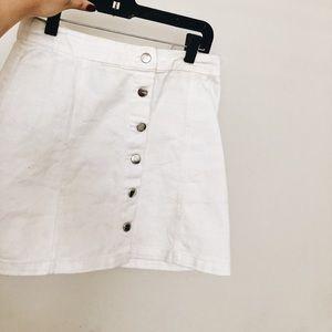 H&M white skirt!